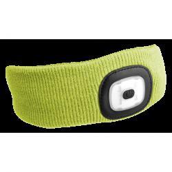 Sixtol Čelenka s čelovkou 45 lm, USB, uni, žlutá