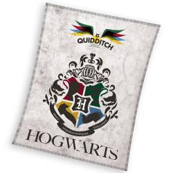 Carbotex Dětská deka Harry Potter Famfrpál , 130 x 170 cm