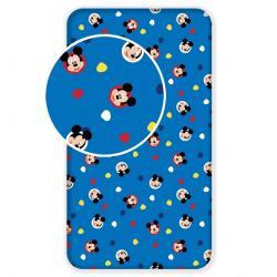 Jerry Fabrics Dětské bavlněné prostěradlo Mickey 04, 90 x 200 cm
