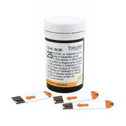 Beurer Testovací  proužky pro GL 44 / GL 50, 2x 25 ks