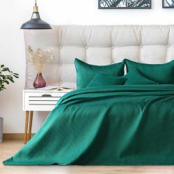 AmeliaHome Přehoz na postel Carmen alpinegreen, 220 x 240 cm