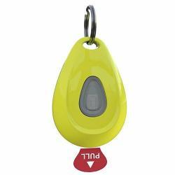 Zero Bugs ultrazvukový odpuzovač klíšťat a blech, žlutá
