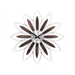 Nástěnné hodiny LAVVU CRYSTAL Flower LCT1110