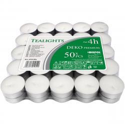 Sada čajových svíček Deko premium, 50 ks