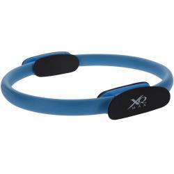 XQ Max Cvičební kruh na Pilates, modrá, 35 cm