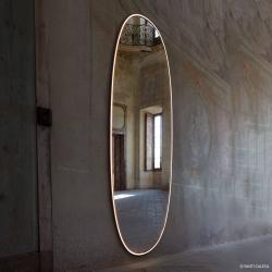 FLOS FLOS La Plus Belle LED nást.zrcadlo lešt.hliník