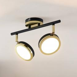 Lindby Lindby Alsani LED stropní reflektor, 2 zdroj
