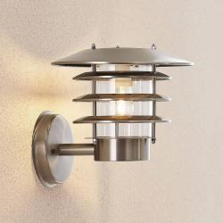 Lindby Lindby Dimara solární LED venkovní nástěnné světlo