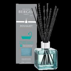 Maison Berger Paris aroma difuzér Cube, Proti zápachu z koupelny – Květinová vůně, 125 ml