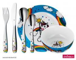 WMF Dětský jídelní set 6dílný Unicorn