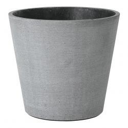 Blomus Květináč Coluna tmavě šedý Ø 18 cm