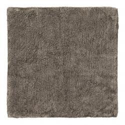 Blomus Koupelnová předložka TWIN 60 x 60 cm tmavě hnědá