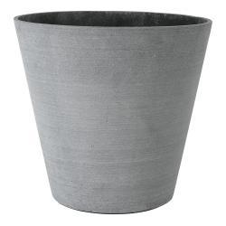 Blomus Květináč Coluna tmavě šedý Ø 34 cm