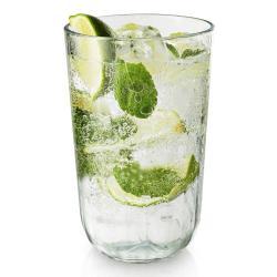 Eva Solo Set fazetových sklenic 0,43 l - eva solo Sklenice na nápoje 4 x 430 ml