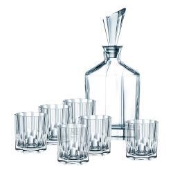Nachtmann Whisky set 7 kusů Aspen