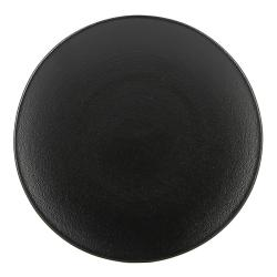 REVOL Talíř chlebový Ø 16 cm matná černá Equinoxe