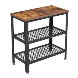 Rongomic Odkládací stolek VASAGLE PUP hnědočerný