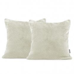Povlaky na polštáře Decoking Xela krémové 45x45 - 2 kusy