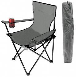 Bluegarden Rybářská židle Gera šedá