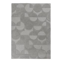 Šedý vlněný koberec Flair Rugs Gigi, 200 x 290 cm