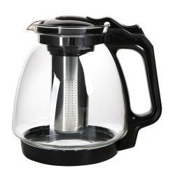 Altom Konvice na čaj se sítkem Black, 2,2 l