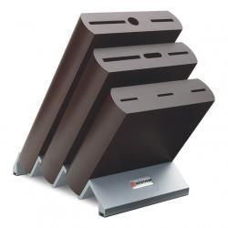 Blok na nože dřevěný Ikon na 9 kusů hnědý WÜSTHOF