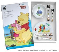 """WMF Dětský jídelní set 6dílný """"Medvídek Pú"""" ©Disney"""