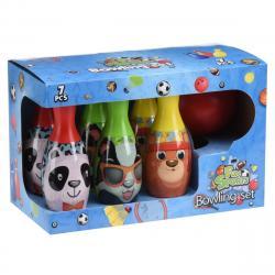 Dětský bowlingový set Zvířátka