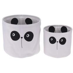 Sada dekoračních košíků Hatu Panda, 2 ks