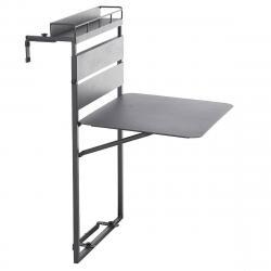 Hliníkový balkonový stolek FIESTA II.