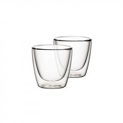 Villeroy & Boch Artesano Hot&Cold Beverages dvoustěnná sklenice na kávu 0,22 l, sada 2 ks