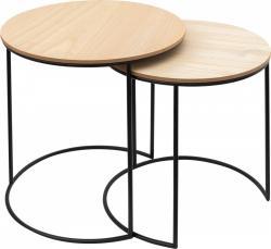 Tutumi Sada dvou kulatých stolků