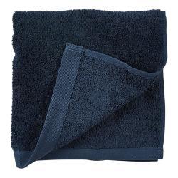 Modrý ručník z froté bavlny Södahl Indigo, 100 x 50 cm