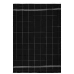 Černá kuchyňská utěrka z bavlny Södahl Geometric