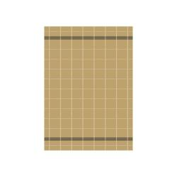 Žlutá kuchyňská utěrka z bavlny Södahl Geometric