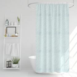 Sprchový závěs Poly modrá