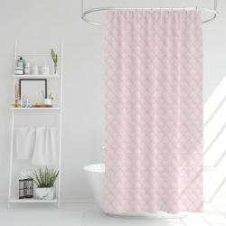 Sprchový závěs Poly růžová