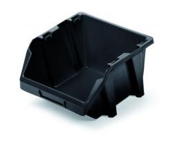 PlasticFuture Úložný box BINEER SHORT černý