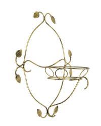 DekorStyle Kovový nástěnný květinový držák
