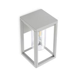 Lindby Lindby Estami venkovní nástěnné světlo, stříbrná