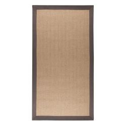 Hnědo-šedý jutový koberec Flair Rugs Herringbone, 80 x 150 cm