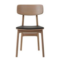 Jídelní židle v dubovém dekoru Unique Furniture Livo