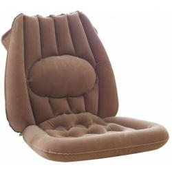 Nafukovací sedák s bederní opěrkou, 52 x 49 cm