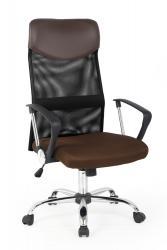 Halmar Kancelářská židle VIRE, hnědá/černá