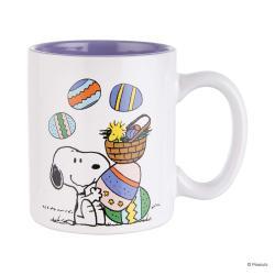 PEANUTS Sada hrnečků Snoopy žongluje 330 ml set 4 ks
