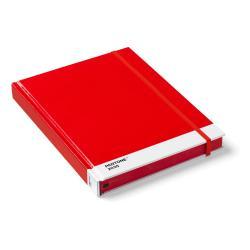 Červený zápisník Pantone