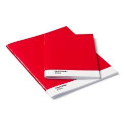 Sada 2červených zápisníků Pantone
