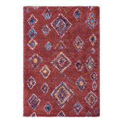 Červený koberec Mint Rugs Phoenix, 80 x 150 cm