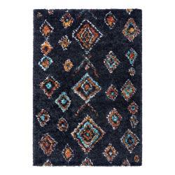 Černý koberec Mint Rugs Phoenix, 160 x 230 cm