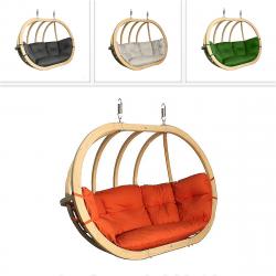 DEOKORK Houpací křeslo PETRA na zavěšení (různé barvy) terakotta